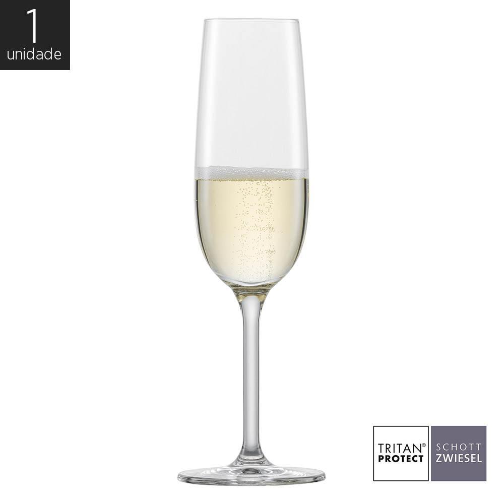 Taça Cristal (Titânio) Champagne Banquet 210ml - Schott Zwiesel - 1 unidade