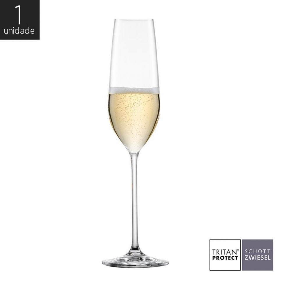 Taça Cristal (Titânio) Champagne Fortissimo 240ml - Schott Zwiesel - 1 Unidade