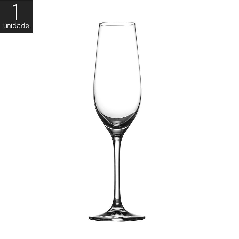 Taça Cristal (Titânio) Champagne Phoenix 244ml - Hausmann by Zwiesel - 1 unidade