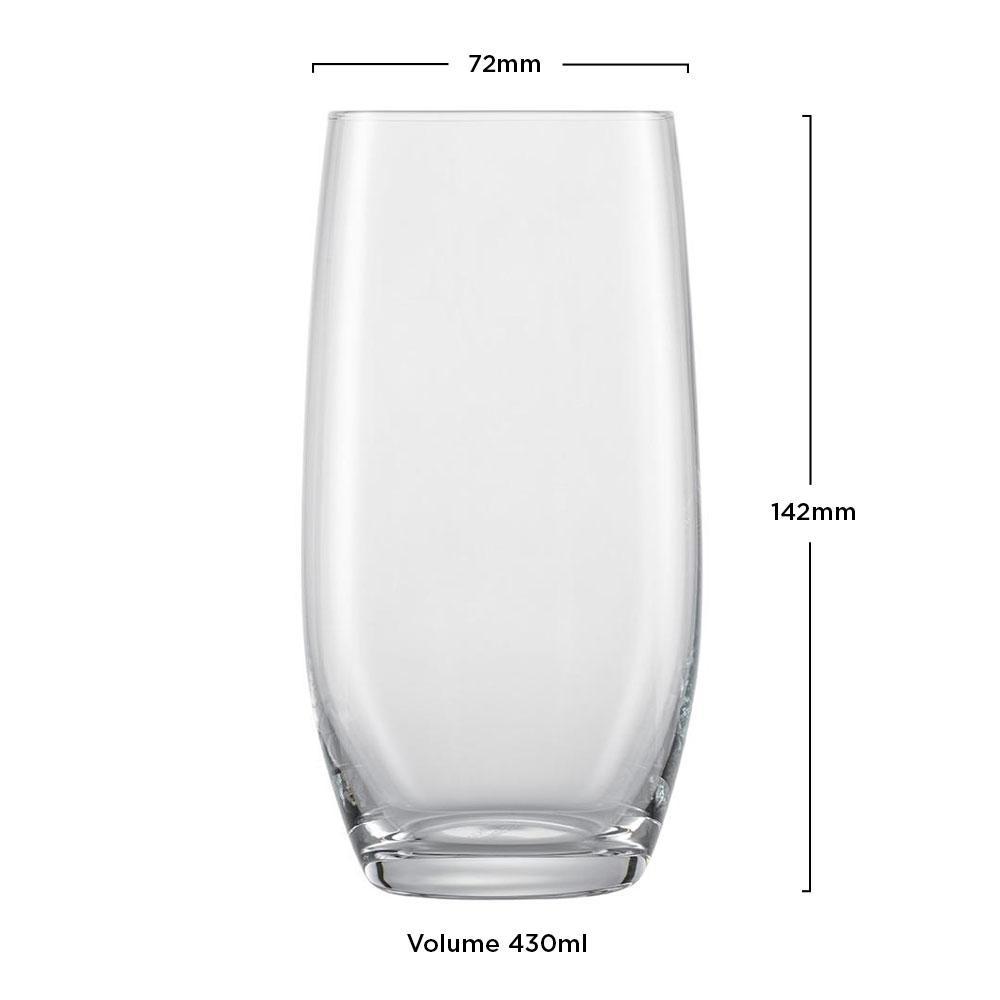 Copo Cristal Longdrink Banquet 430ml - Schott Zwiesel - 1 unidade