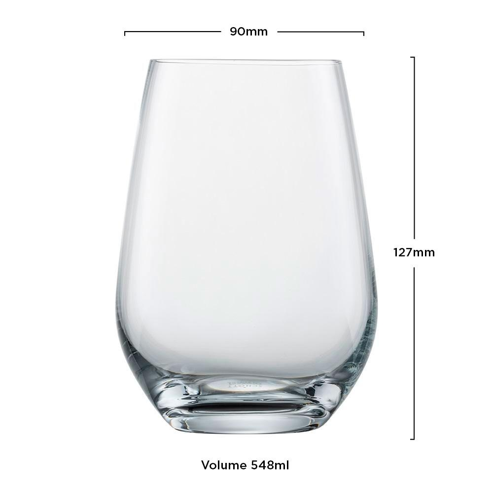 Copo Cristal (Titânio) Longdrink Viña 548ml - Schott Zwiesel - 1 unidade