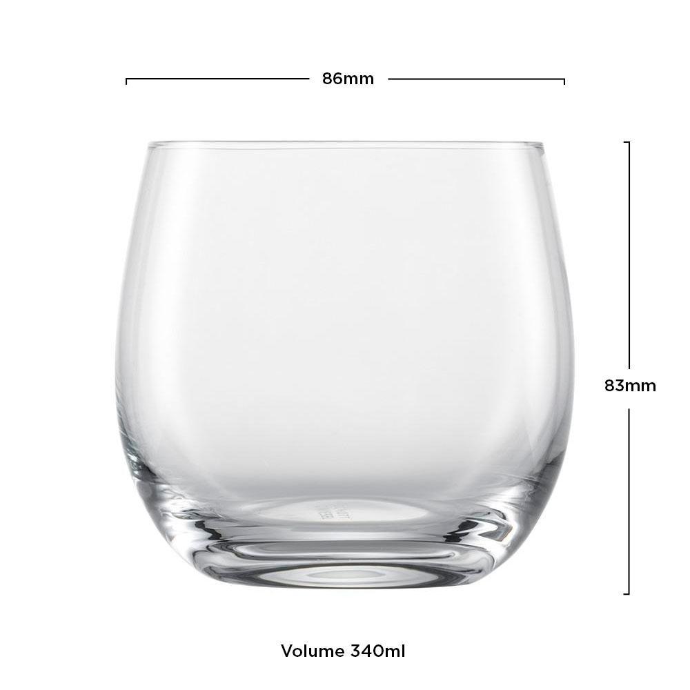 Copo Cristal (Titânio) Whisky Banquet 340ml - Schott Zwiesel - 1 unidade