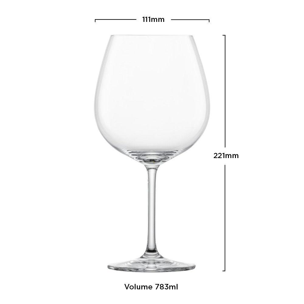 Taça Cristal (Titânio) Borgonha Ivento 783ml - Schott Zwiesel - 1 unidade