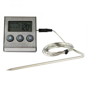 Termometro Culinário Digital com Cabo para Forno - Incoterm