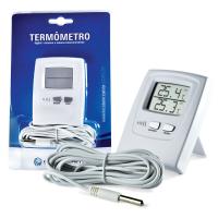 Termômetro Digital Máxima e Mínima Interno/Externo - Incoterm