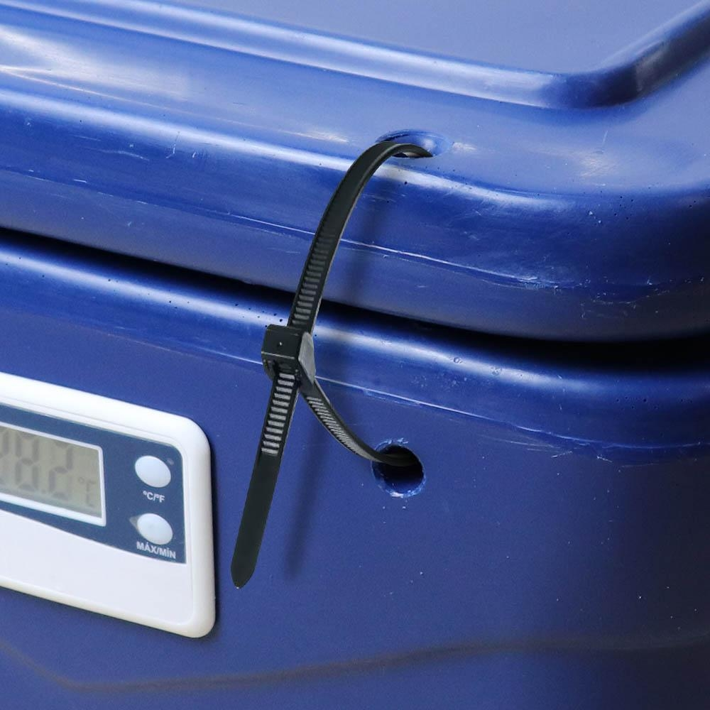 Caixa Térmica 10 Litros c/ Lacre e Termômetro Digital - Adarve