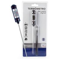 Termômetro Digital Tipo Espeto com Capa Protetora - Incoterm