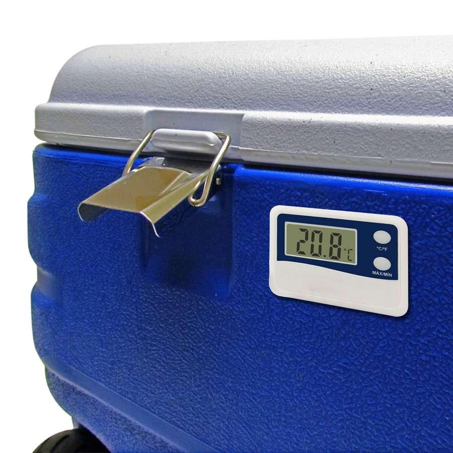 Caixa Térmica EasyCooler com Termômetro e Rodas 80 Litros - EasyPath