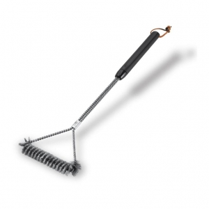 Escova Aço Inox para Limpeza de Grelha 53 cm - Weber