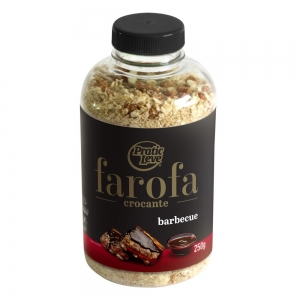 Farofa Crocante Barbecue 250 g - Pratic Leve