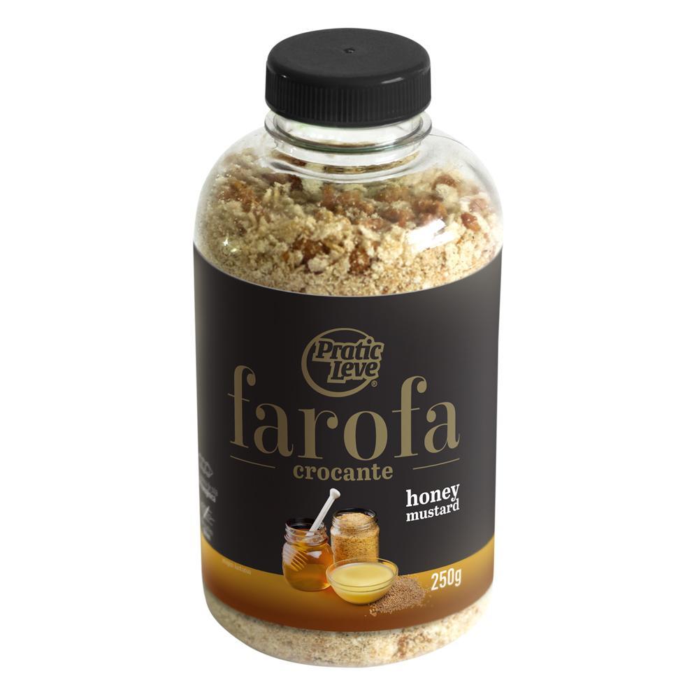Farofa Crocante Mostarda e Mel 250 g - Pratic Leve
