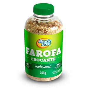 Farofa da Garrafa Crocante Tradicional 250 g - Pratic Leve