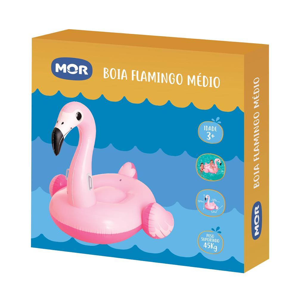 Boia Inflável Flamingo Médio - Mor