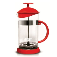 Cafeteira French Press Basic Vermelha 1 Litro - Bialleti