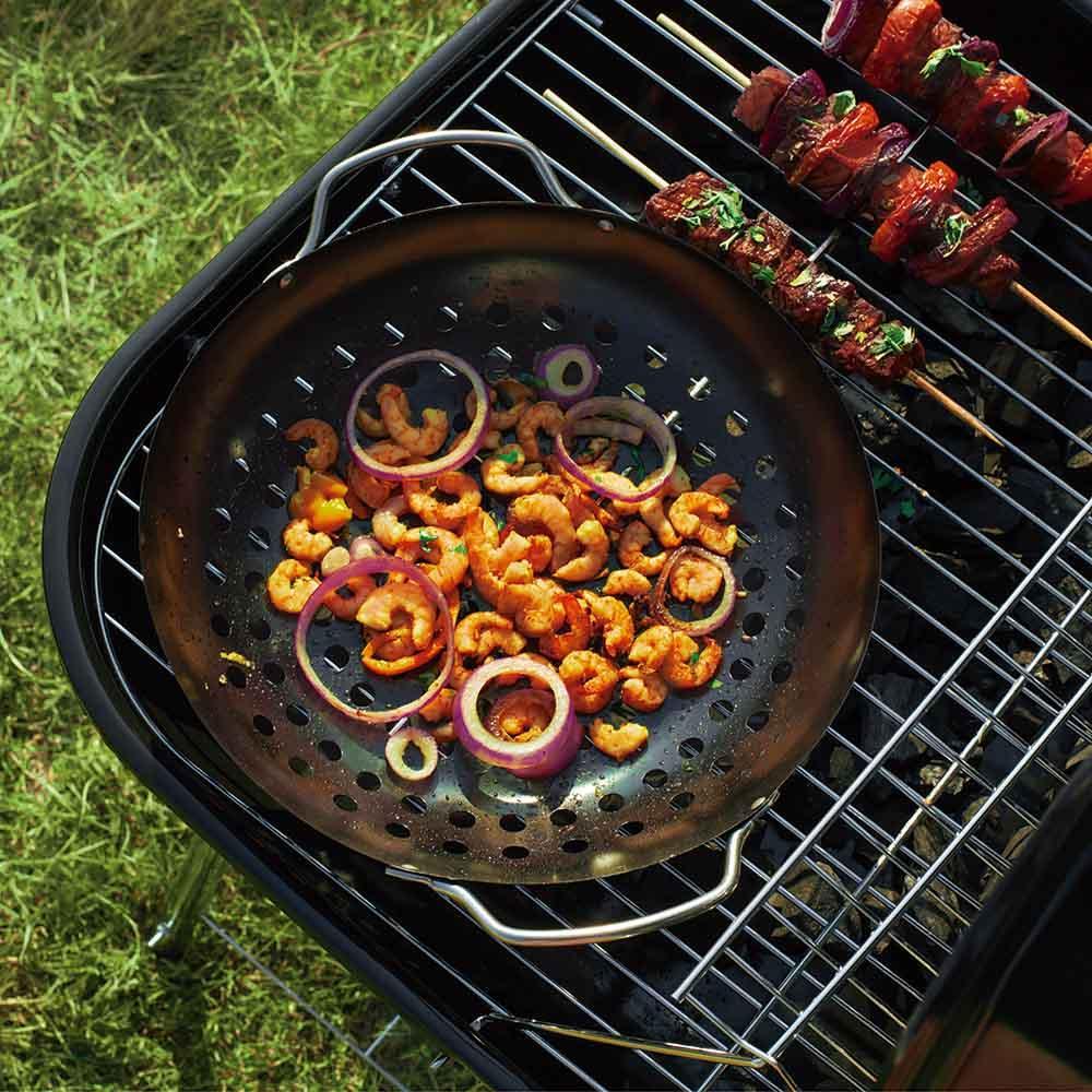 Frigideira Wok Antiaderente Grelhar Legumes Ø28 cm - Mor