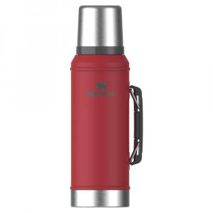 Garrafa Térmica Com Alça Classic Vermelha 1 Litro - Stanley