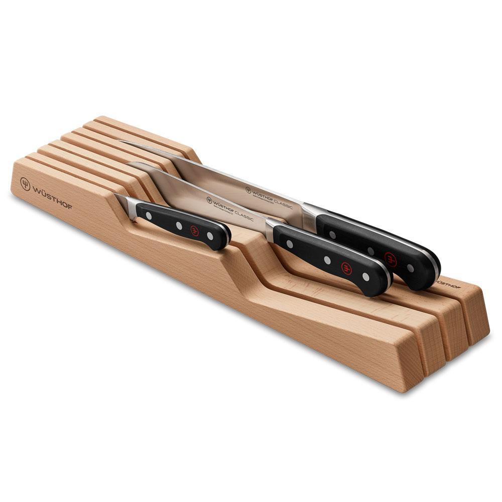 Wüsthof - Organizador Facas Madeira 7 Compartimentos