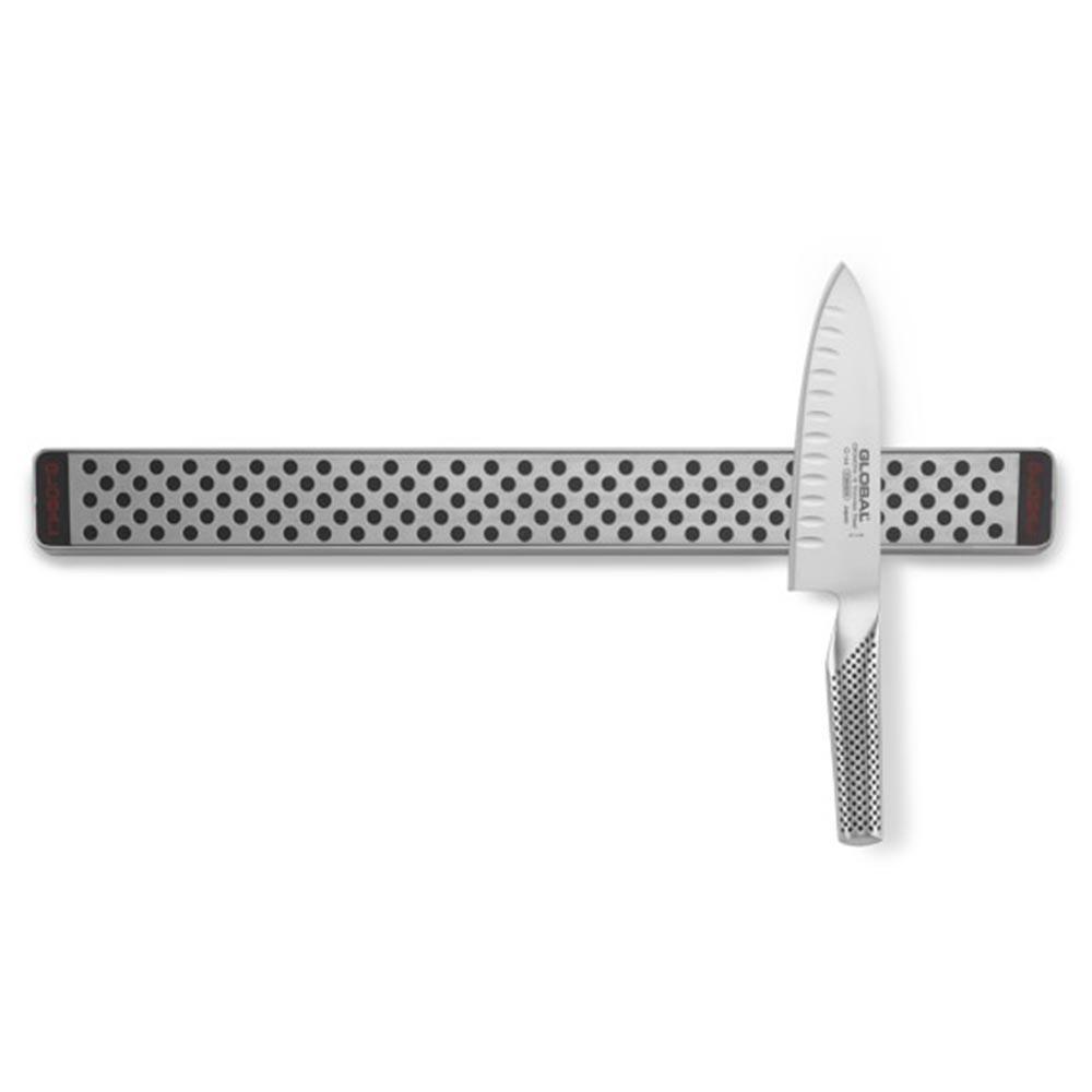 Barra Magnética p/ Facas Aço Inox 40 cm - Global