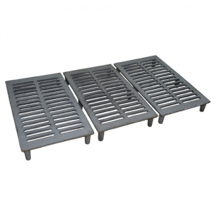 Jogo de Grelhas para Carvão para Apolo Industrial (Ferro Fundido) - Weber