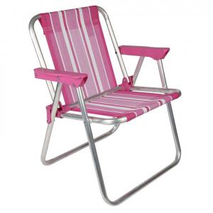 Cadeira de Praia Infantil Alumínio Alta - Mor