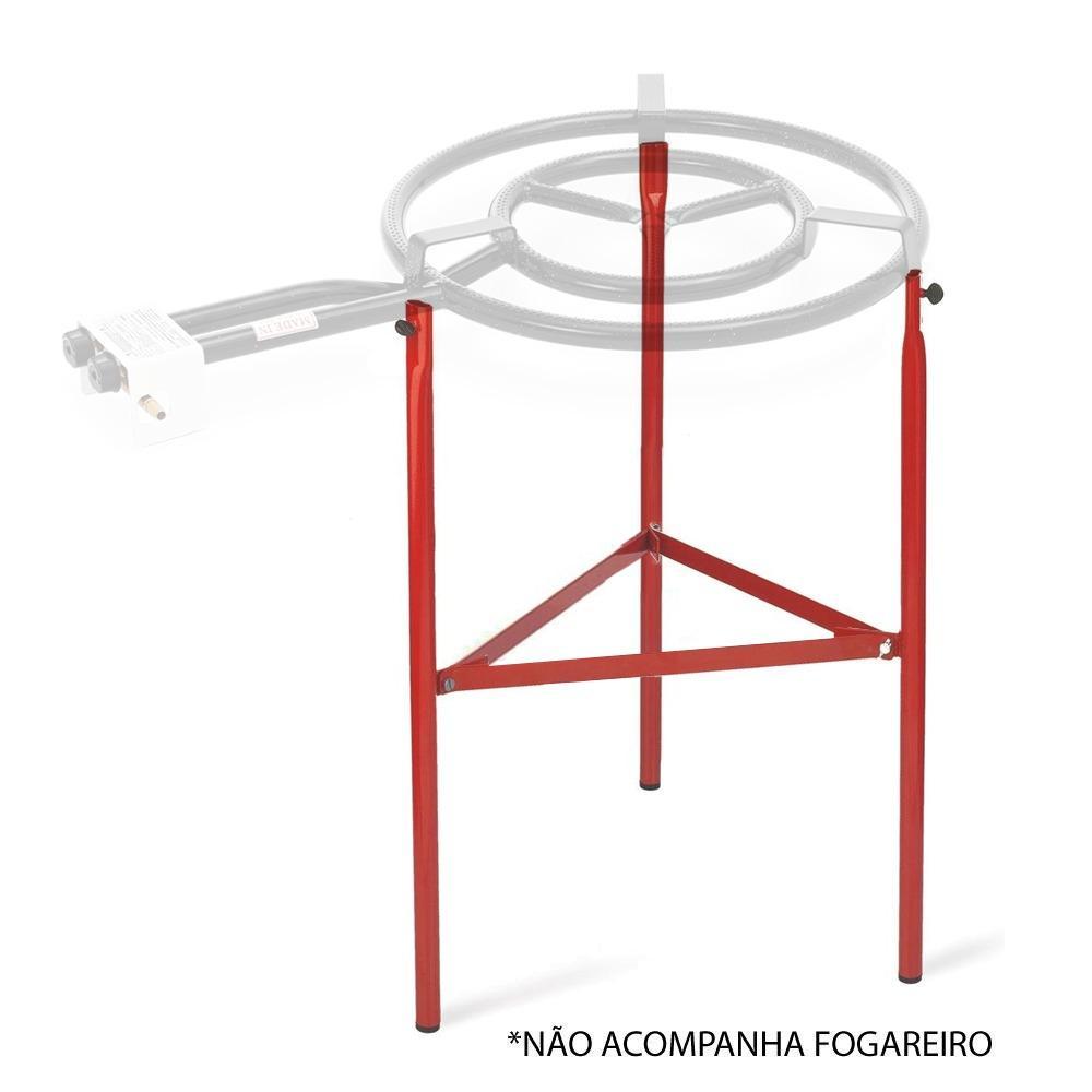 Vaello - Kit 3 Pés Suporte Reforçado Fogareiro Paelleras