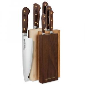 Bloco 5 Facas Cepo Madeira Crafter 9834 - Wüsthof