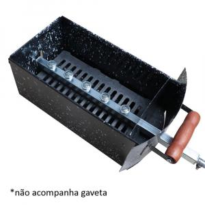 Kit Gás Churrasqueira Apolo Plus 7 Espetos - Weber