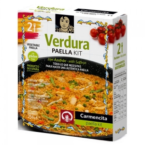 Kit Ingredientes Paella Vegetariana 2 Pessoas - Carmencita