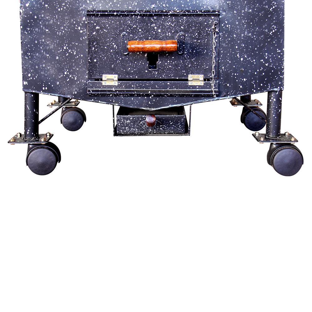 Kit Rodinhas para Apolo Industrial (4 Peças) - Weber