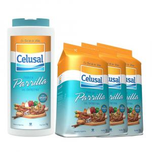 Kit Sal Entrefino para Parrilla 4 Kg - Celusal