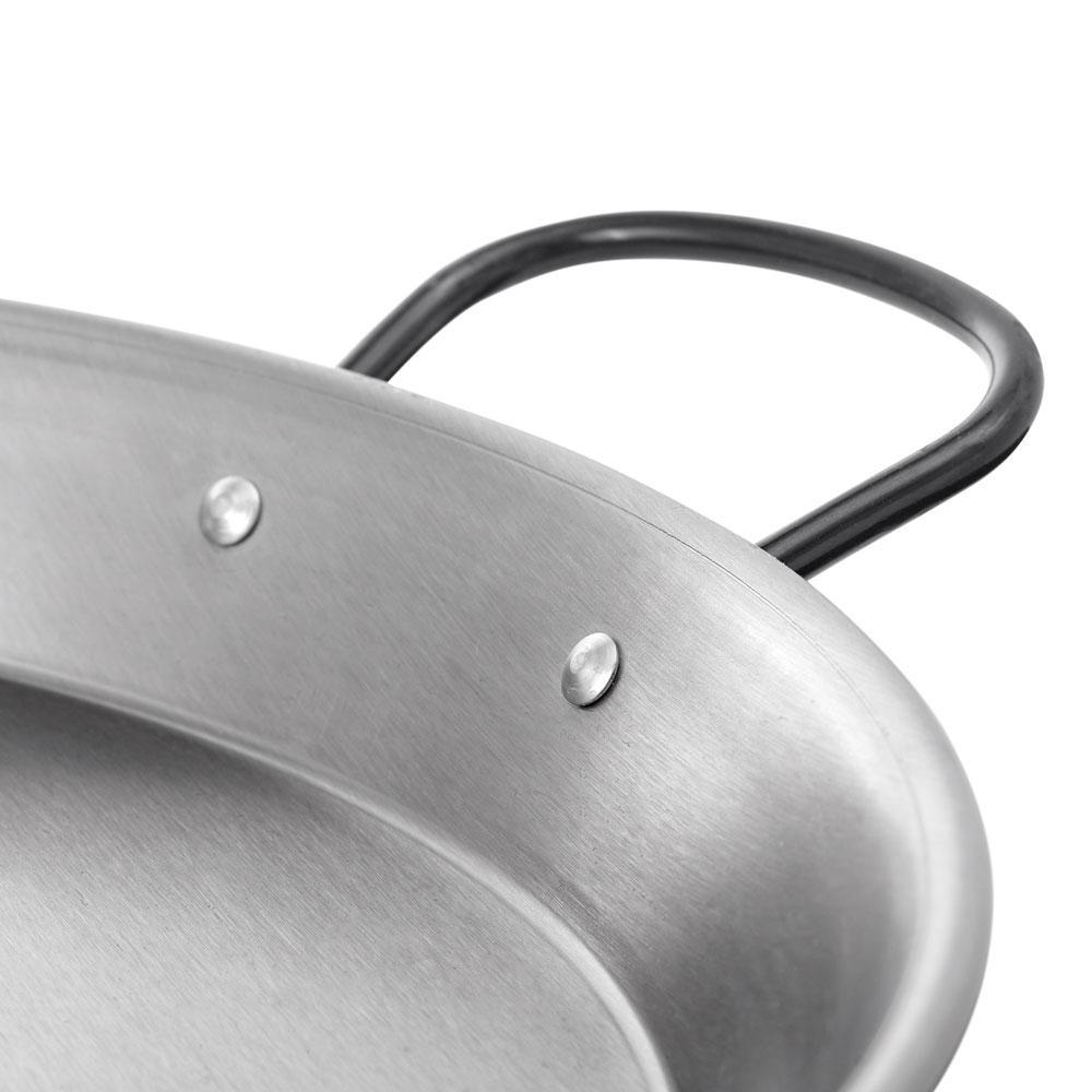 Vaello - Paellera Valenciana Aço Polido Ø70cm (~30 Porções)