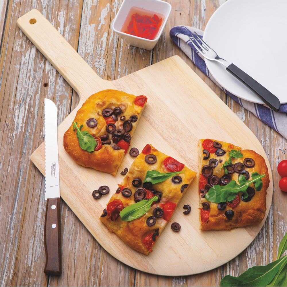 Pá de Pizza Madeira Cabo Curto 61/35 cm - Tramontina