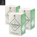 Maldon - Kit 3X Sal Marinho em Flocos 250 g