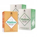 Maldon - Kit 2X Sal Marinho em Flocos 250 g + 1X Defumado 125 g