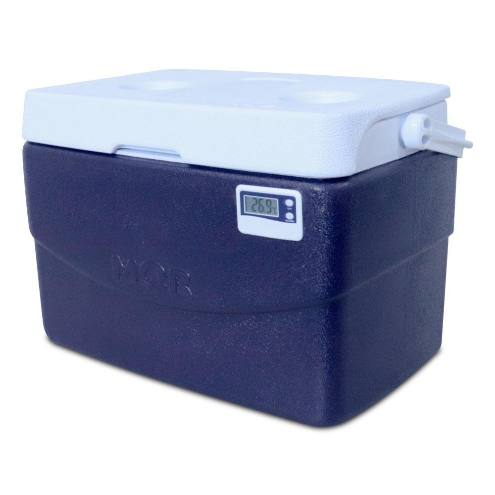 Caixa Térmica 20 Litros c/ Termômetro Máx/Mín e Alça Superior - Mor