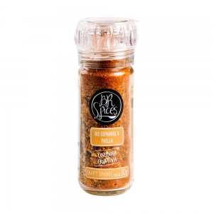 Tempero Mix Espanhol e Paella com Moedor 90 g - BR Spices