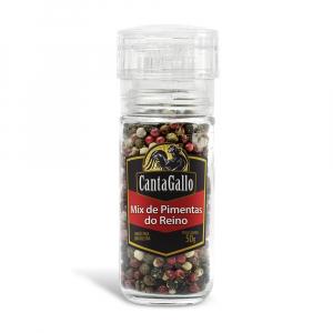 Mix Pimentas do Reino Moedor 50g - CantaGallo