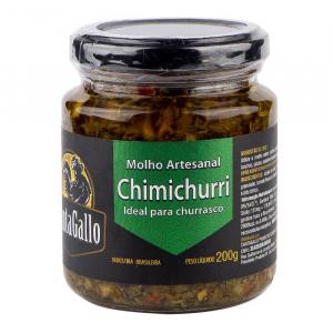 Molho Artesanal Chimichurri 200 g - CantaGallo