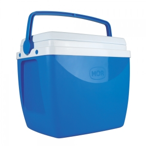 Caixa Térmica com Alça Superior Azul 18 Litros - Mor
