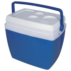 Caixa Térmica com Alça Superior Azul 34 Litros - Mor