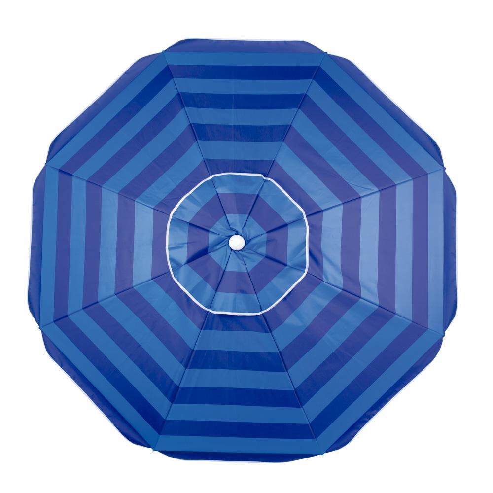 Guarda-Sol Alumínio Articulável Azul Ø2m - Mor
