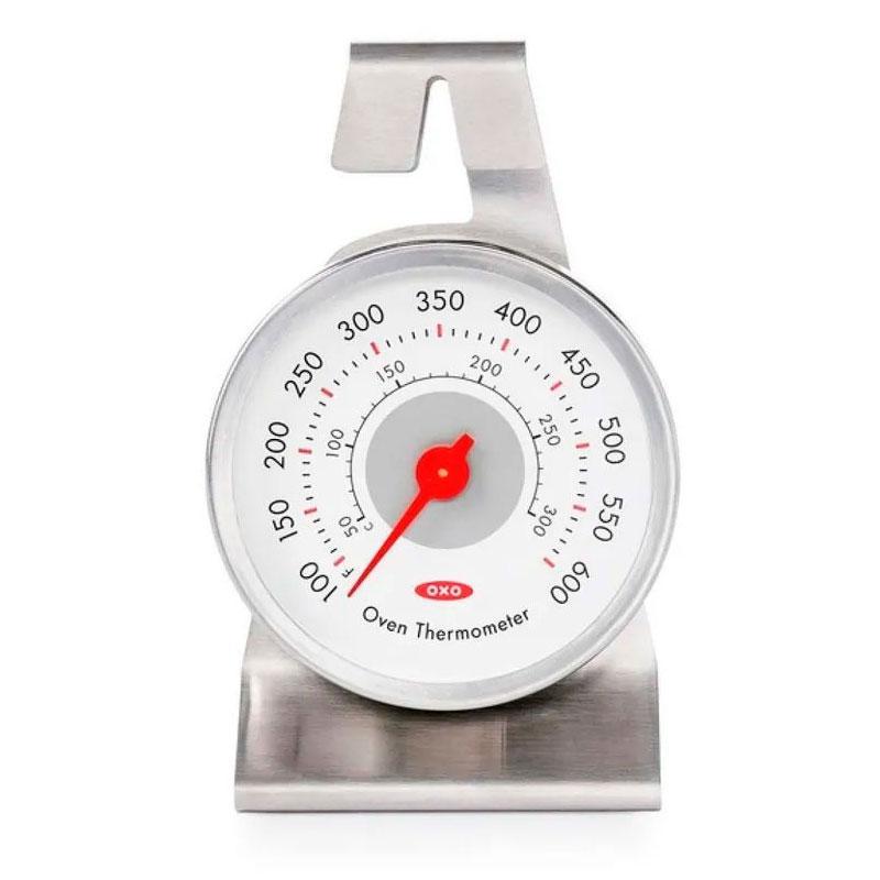Termômetro Especial Forno Inox com Suporte - OXO