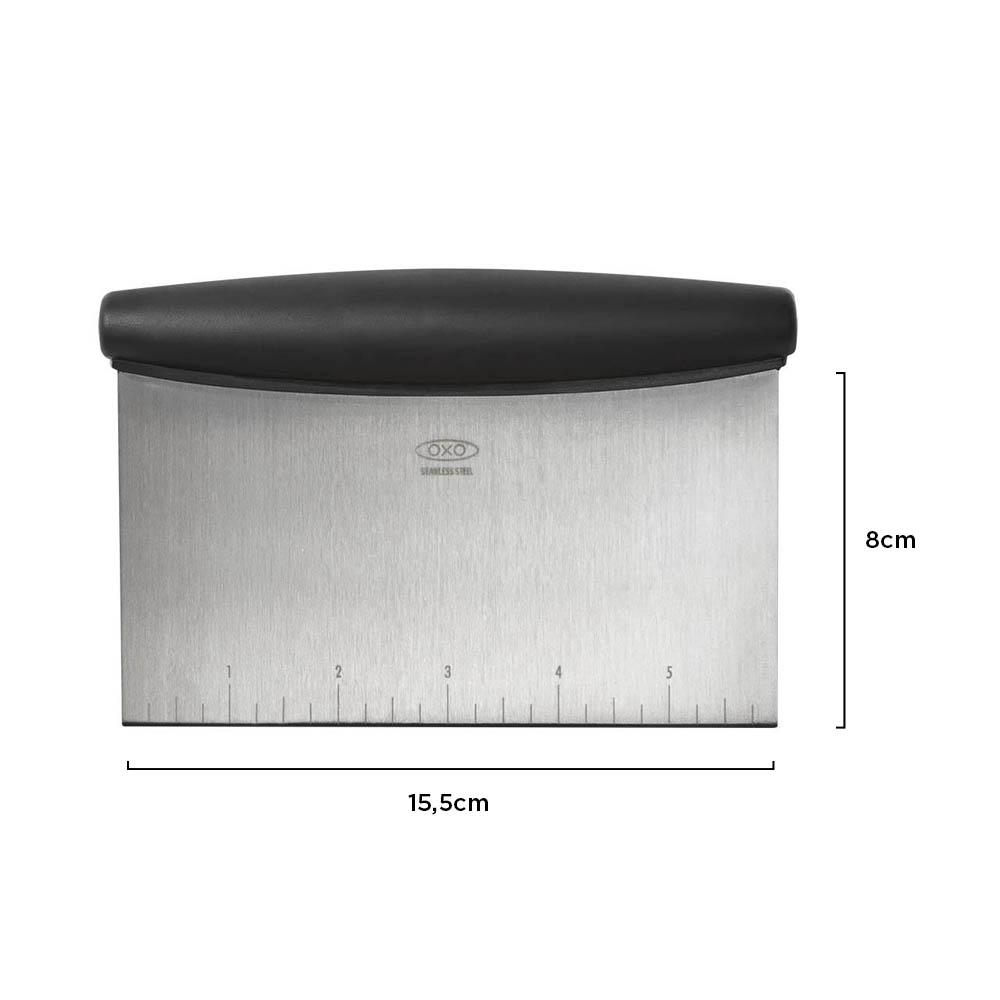 Espátula Raspador Multiuso Inox 16 cm - OXO
