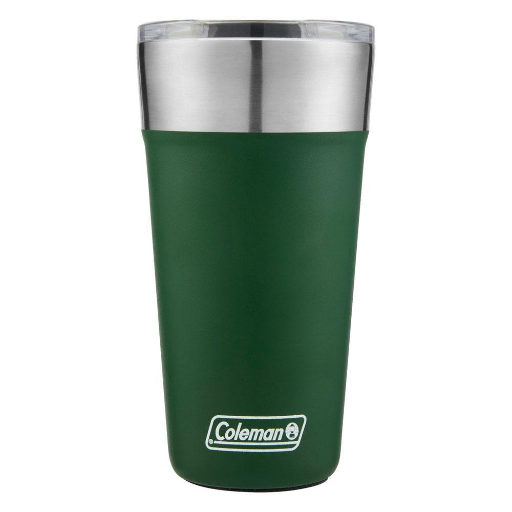 Copo Térmico Cerveja Inox Verde c/ Tampa 591 ml - Coleman