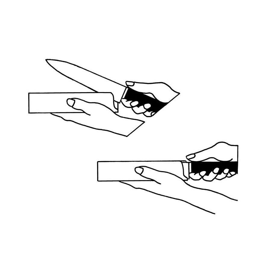 """Protetor para Facas 8"""" Largo (Faca Chef) - Zwilling"""