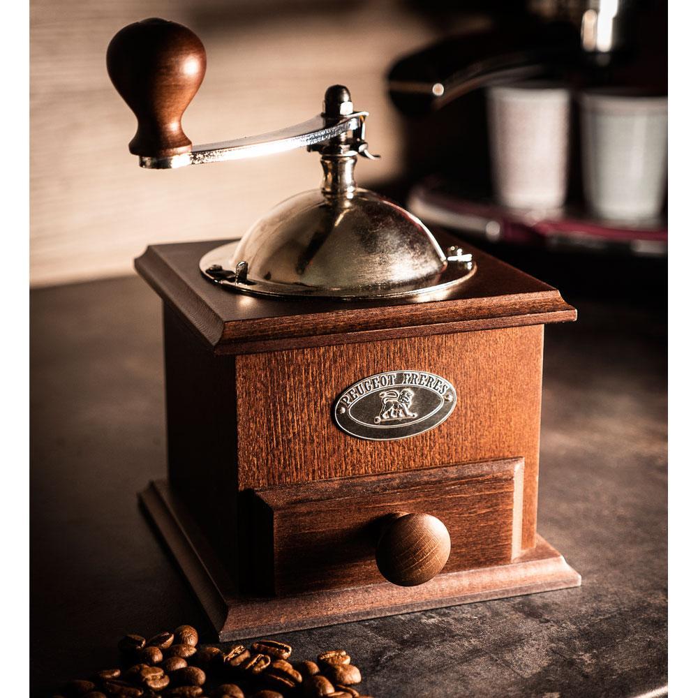 Peugeot Nostalgie - Moedor Café Manivela Cor Chocolate 21 cm