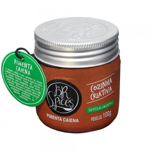 Pimenta Caiena Pote 100 g - BR Spices
