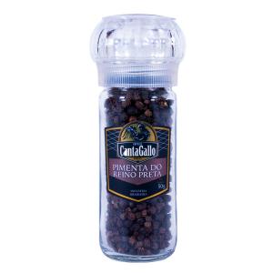 Pimenta do Reino Preta com Moedor 50 g - CantaGallo