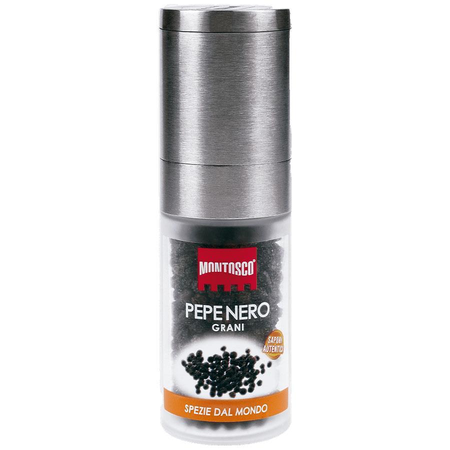 Pimenta Preta Grãos com Moedor 43g - Montosco