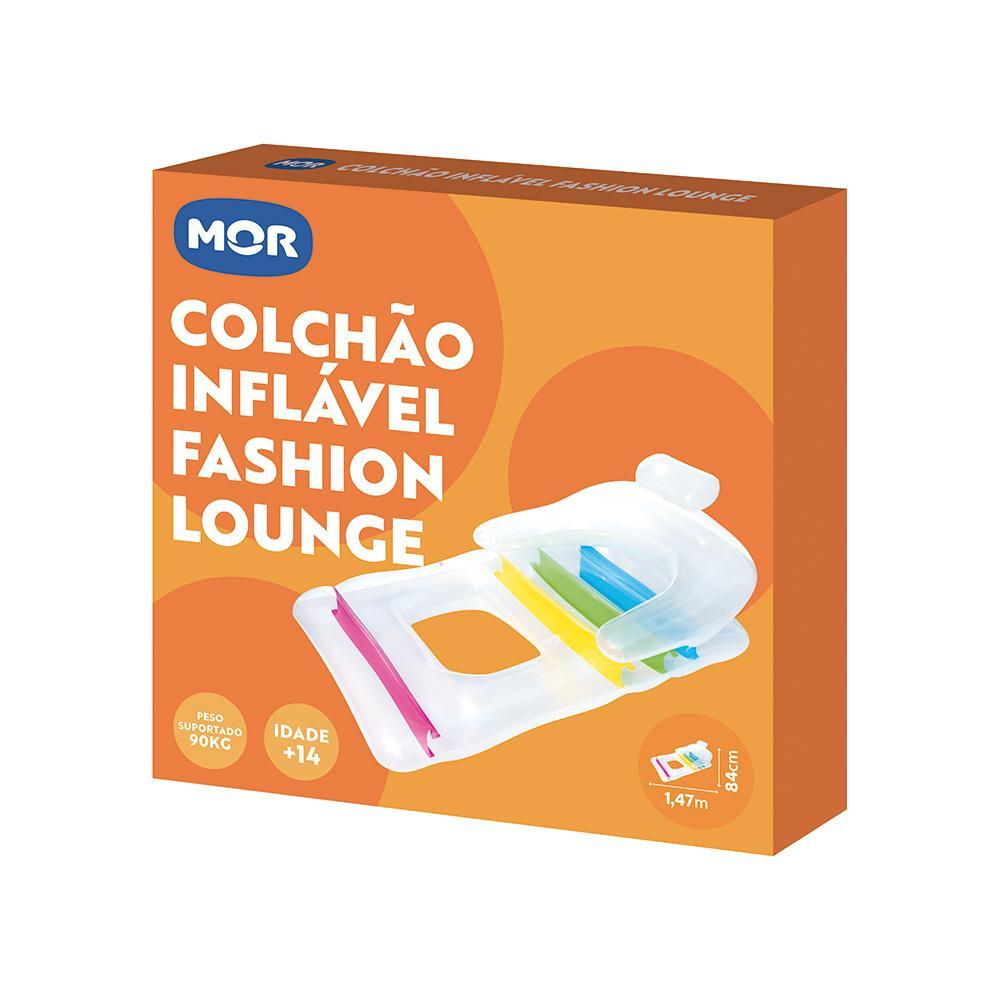 Colchão Inflável p/ Piscina c/ Abertura p/ os Pés - Mor